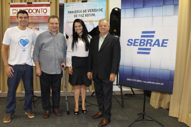 Sebrae-MS teve presença especial das comemorações do Dia do Representante Comercial