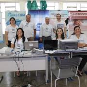 Evento contou com a presença do presidente do SIRECOM-MS e CORE-MS, José Alcides dos Santos. Fotos: Cristina Gomes/Assessoria de Comunicação