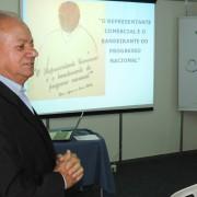 Presidente do SIRECOM-MS e CORE-MS, José Alcides dos Santos, considerou produtiva participação na terceira etapa da Rota do Desenvolvimento. Foto: Assessoria de Comunicação