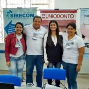 Equipes do SIRECOM-M e do CORE-MS recebem a visita da vice-governadora, Rose Modesto