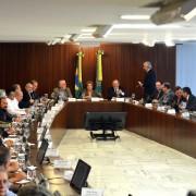 Empresários e representantes de centrais sindicais apresentaram sete propostas para a retomada do crescimento econômico do país. Foto: Agência Brasil
