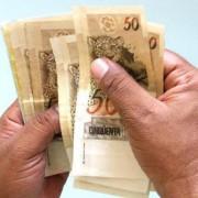 dinheiro salario