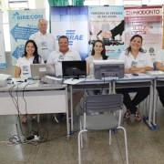 Participações do SIRECOM-MS e do CORE-MS nas edições de 2015 do 'Balanço Geral nos Bairros' foram bem-sucedidas.  Foto: Assessoria de Comunicação