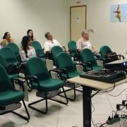Presidente do CORE-MS, José Alcides dos Santos, transmitiu sua vasta experiência durante palestra.