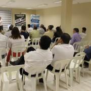 Bate-papo com o diretor da Condex, Nilton Rezende, foi considerado produtivo pelos representantes Comerciais. Foto Assessoria de Comunicação