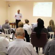 Reginaldo Lima considera  reunião   importante  para que os representantes comerciais exponham suas ideias . Foto Assessoria de Imprensa