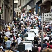 Pesquisa constatou que 53,6% das empresas inadimplentes estão no Sudeste (53,6%). O Nordeste tem 16,7% e o Sul, 15,7%. Marcelo Camargo/Agência Brasil