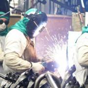 Esta é a segunda taxa positiva consecutiva registrada pela indústria brasileira, que em abril subiu 1,1%. Arquivo/Agência Brasil